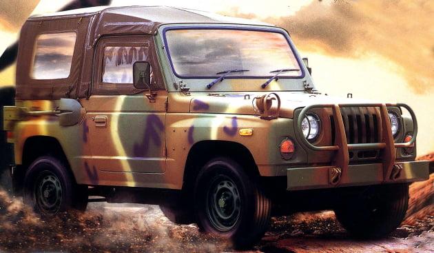 기아의 대표 소형 군용차 '레토나(K-131)'. 출처: 기아