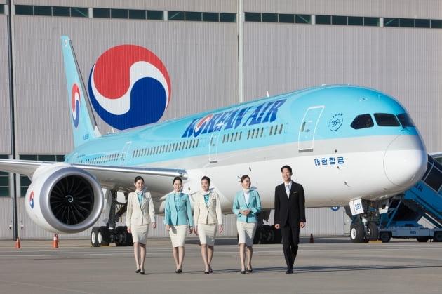 (사진) 대한항공의 보잉 787-9 항공기. /대한항공 제공