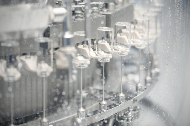 (사진) 모더나 백신 완제 공정 설비. /삼성바이오로직스 제공