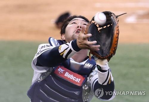 장승현 결승 2루타에 끝내기 태그까지…두산, NC 꺾고 단독 3위(종합)