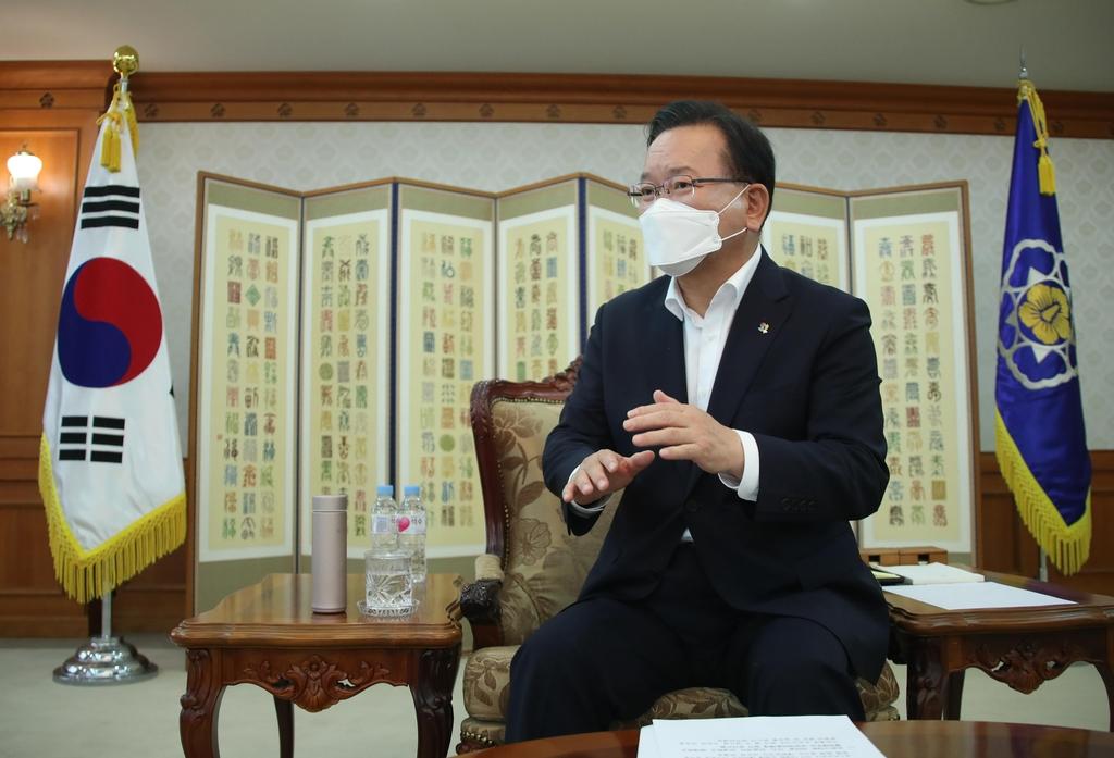 """[일문일답] 김총리 """"위험건물 DB화…점검의무 강화할 것"""""""
