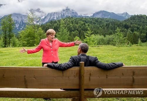 파워리더 메르켈 마지막 G7정상회의…15번째, 대처 기록 넘어서