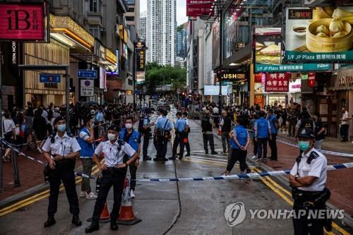 '송환법 반대' 기억조차 힘들어진 홍콩…일부 산발 시위만