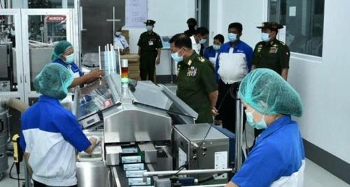 [미얀마르포]'강매' 군부기업 비누·치약 써봤더니…품질 조악·일부 더 비싸