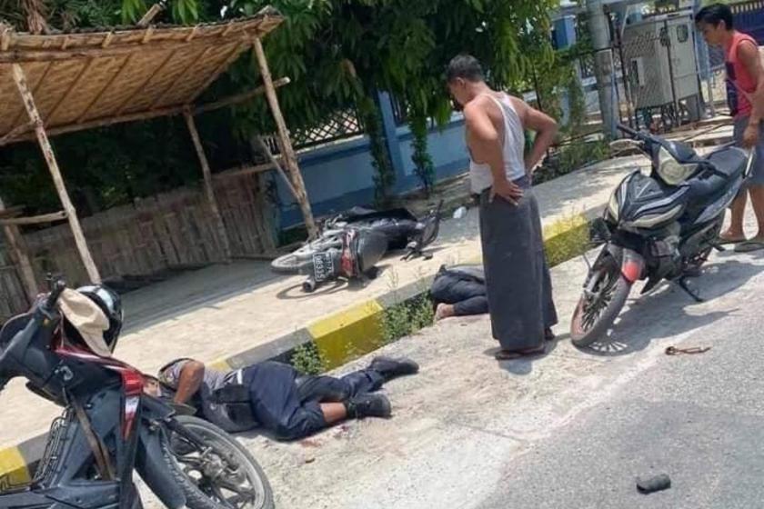"""""""군부요인 겨냥 공격 정말 무서워"""" 미얀마 군정장관 부인 토로"""