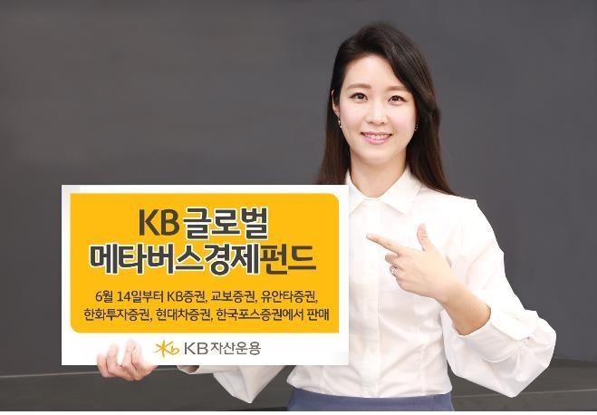 [증시신상품] KB자산운용, 메타버스에 투자 펀드 첫 출시
