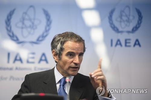 """IAEA 사무총장 """"이란, 아직은 핵무기 프로그램 없지만…"""""""