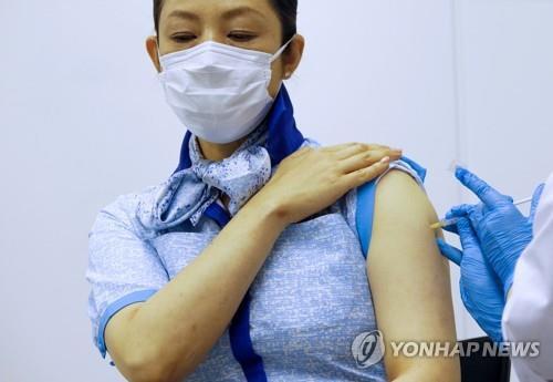 日백신사업 헛도나…대규모 접종센터 예약미달 '골머리'