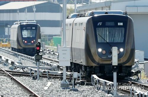 '지옥철' 김포도시철도 평일 출근때 20→21편성 확대