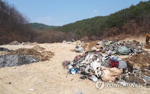 """""""쓰레기 투기 꼼짝마"""" 음성군 CCTV 늘리고 신고포상금 4배↑"""