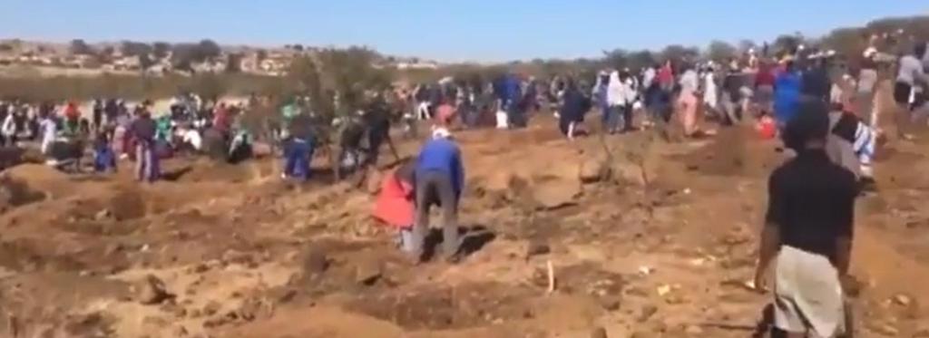 남아공 남동부 마을서 '다이아몬드 발견' 소동