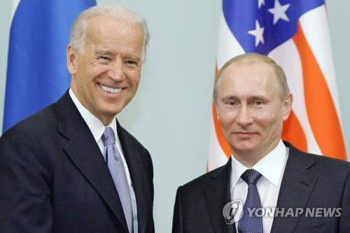 첫 대면 바이든-푸틴, 전략적 안정·중국견제 등 논의 전망(종합)