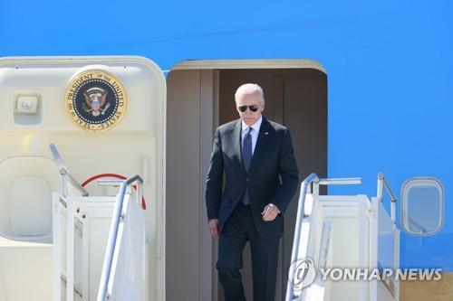 바이든, 미러 정상회담 앞서 제네바 도착…스위스와 양자회담
