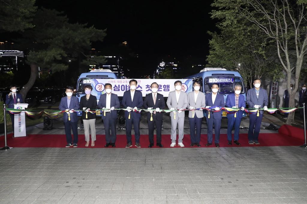 천안 심야버스 운행 시작…운전기사가 방범·구호 활동도
