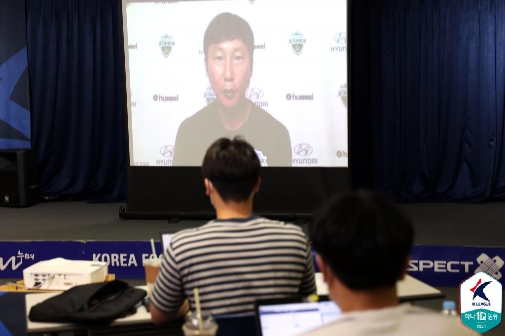"""전북 김상식 감독 """"ACL 10년 우승 주기설 앞당기고파"""""""