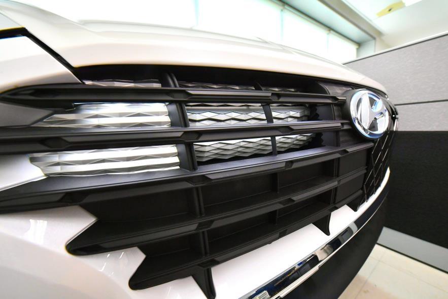 '車그릴을 조명 장치로'…현대모비스, LED 적용한 그릴 개발