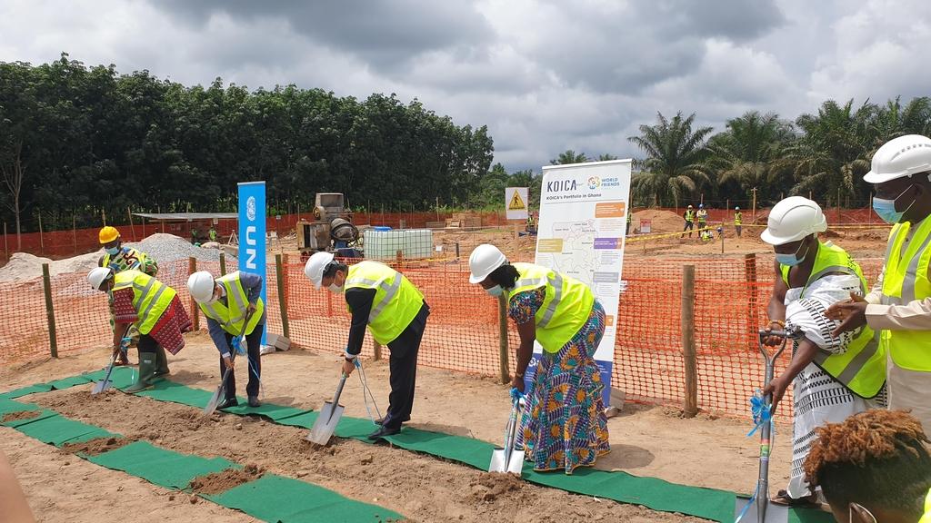 코이카, '가나 주곡작물 자급자족 100% 달성' 지원한다