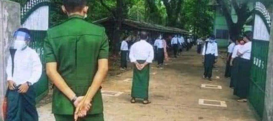 미얀마, 코로나 확산 와중에 등교 강제령…'집단 감염' 우려