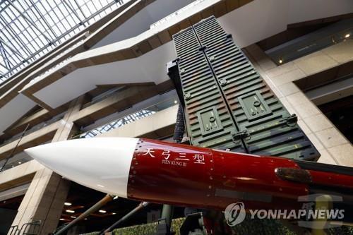 대만, 中 압박 속 '대만판 사드' 톈궁3 미사일 실전배치