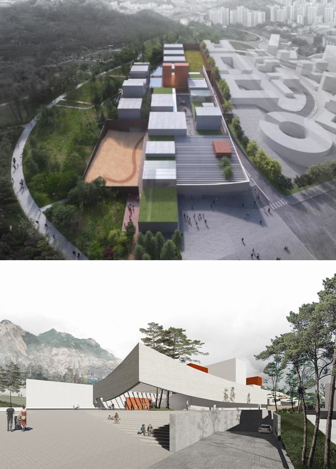 한국문학관 건립 설계공모서 디엔비건축 '문학빌리지' 당선