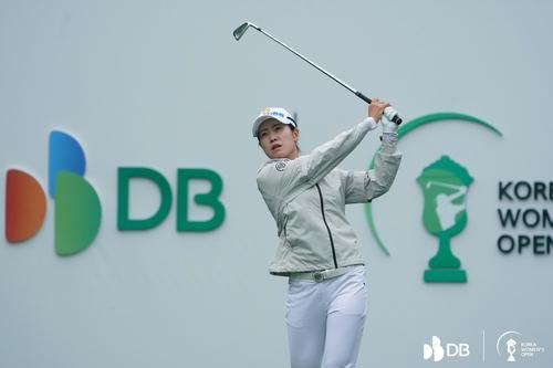 거침없는 박민지, 한국여자오픈도 우승 가시권(종합)
