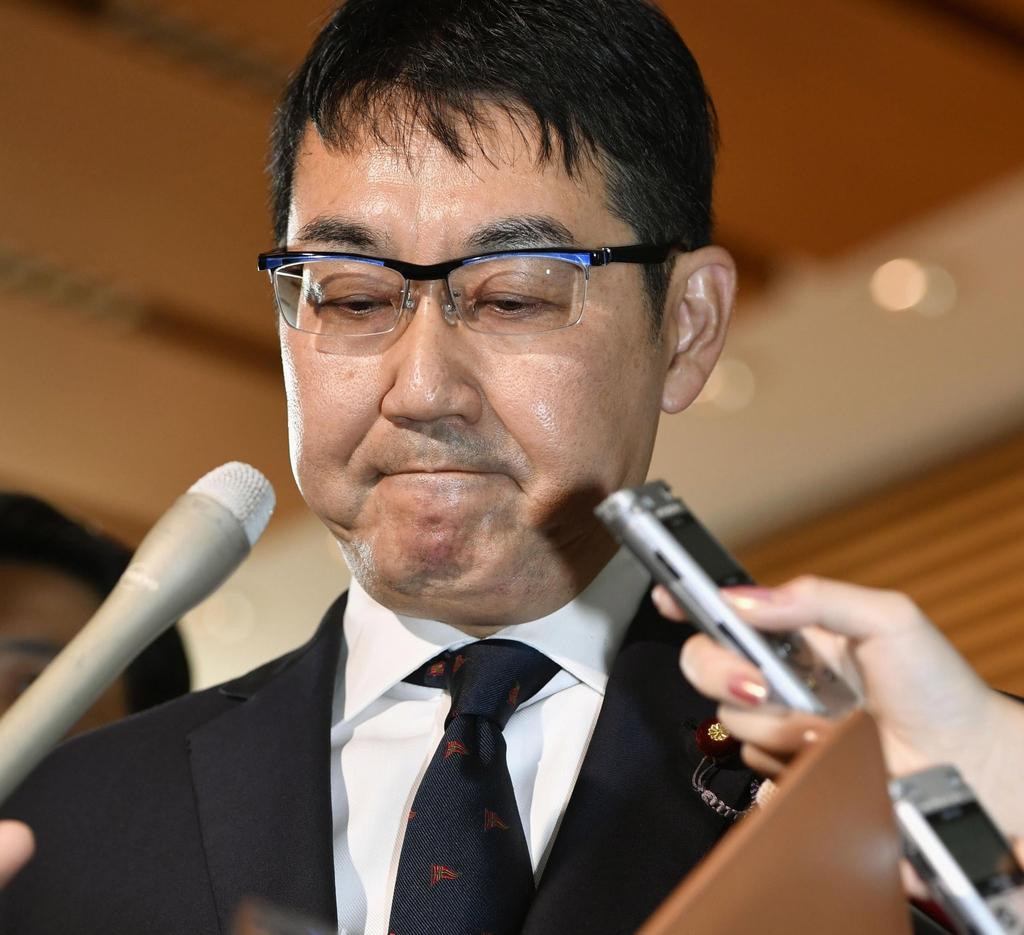 스가 측근 전직 日법무장관 '돈 봉투 선거' 1심 징역 3년
