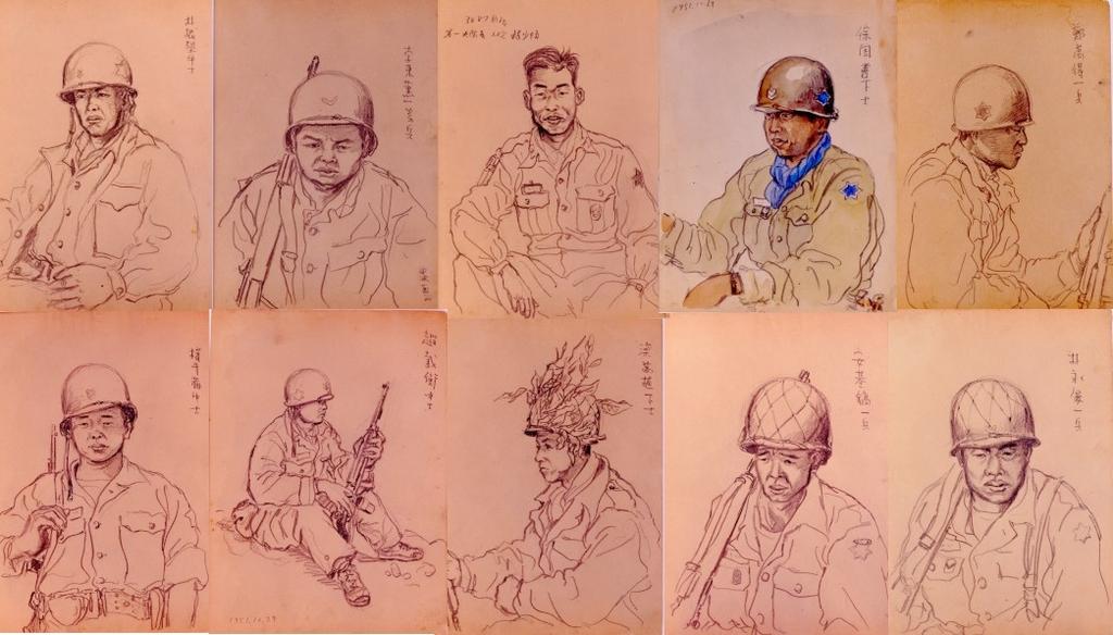 [70년만의 무공훈장]⑤ 10인의 영웅, '고바우 영감'의 인물화로 살아나다