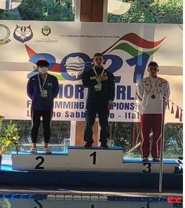핀수영 유망주 이성, 세계청소년선수권대회 표면 1,500m 은메달