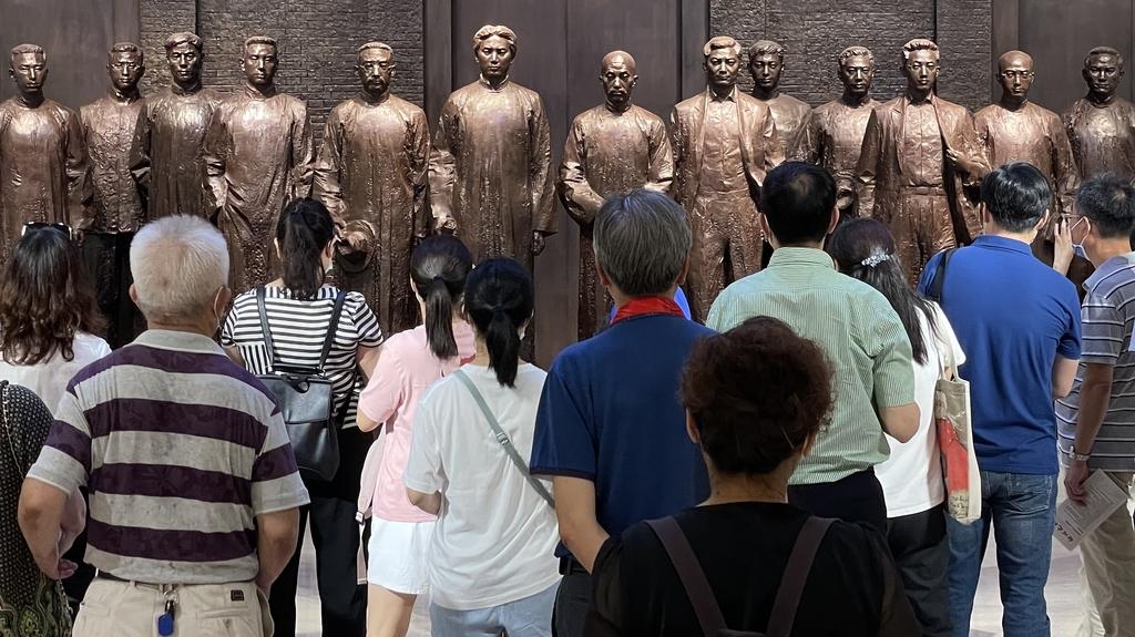 [中공산당 100년] ④ 상하이 '혁명 성지'엔 '순례객들'로 북적