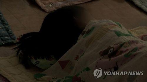 [고침] 지방(인천서 부모와 잠자던 생후 9개월 여아 숨져)