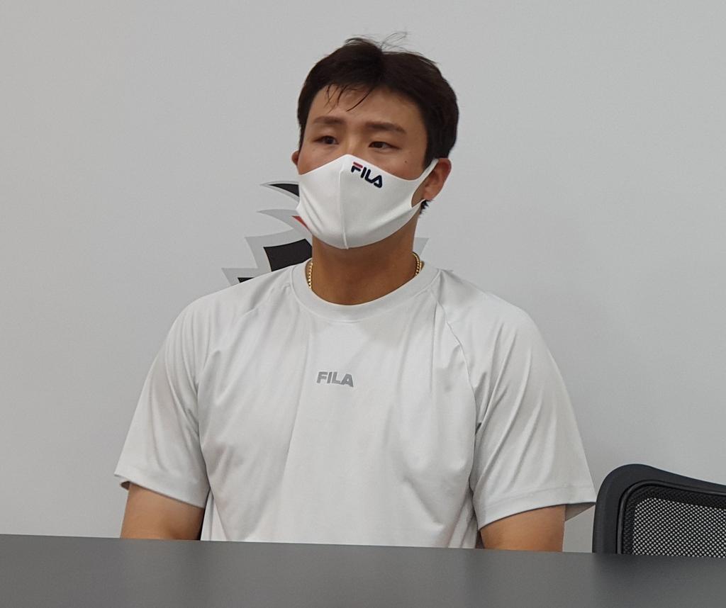 """두산 박세혁 """"목표? 올림픽이었는데…이제는 미라클 우승"""""""