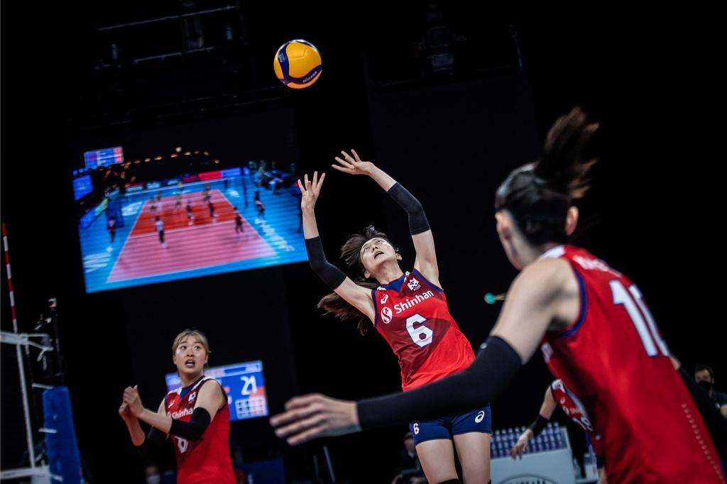 한국 여자배구, 도쿄올림픽 첫 상대 브라질에 0-3 패배
