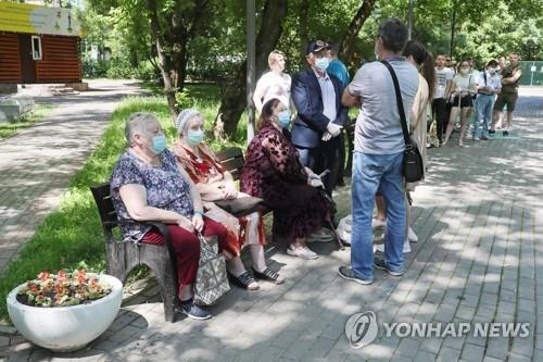 러 코로나19 다시 폭발적 증가…모스크바 신규 확진 9천명 넘어