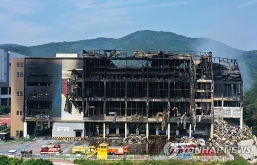 충북서 5년간 창고 화재 361건…소방본부 특별점검