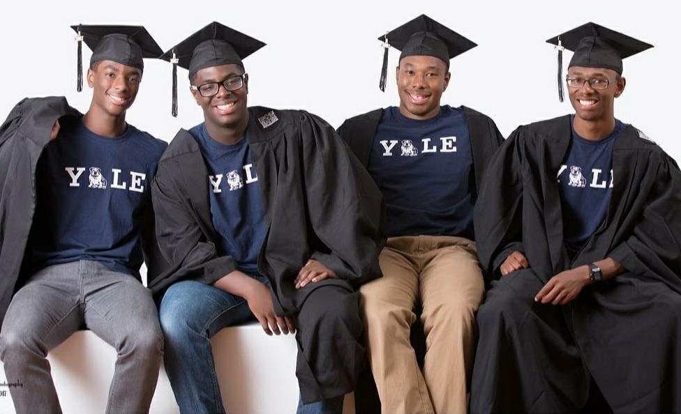 """예일대 졸업하는 네쌍둥이 형제들 """"이제 각자의 길 갑니다"""""""