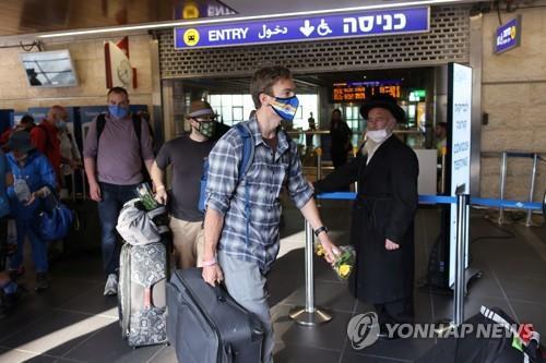 델타 변이 확산 이스라엘, 병원·공항 마스크 의무착용 부활