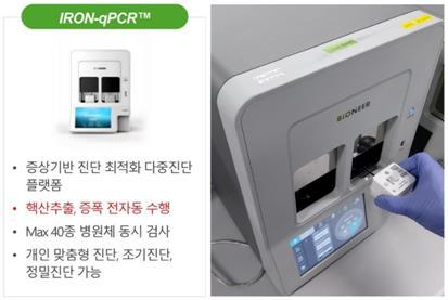 """바이오니아 """"코로나 등 20가지 호흡기질환 가려내는 장비 개발"""""""