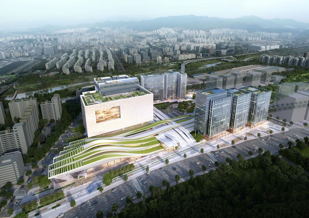 KT에스테이트, 수서역에 오피스텔 1천200가구 임대 운영