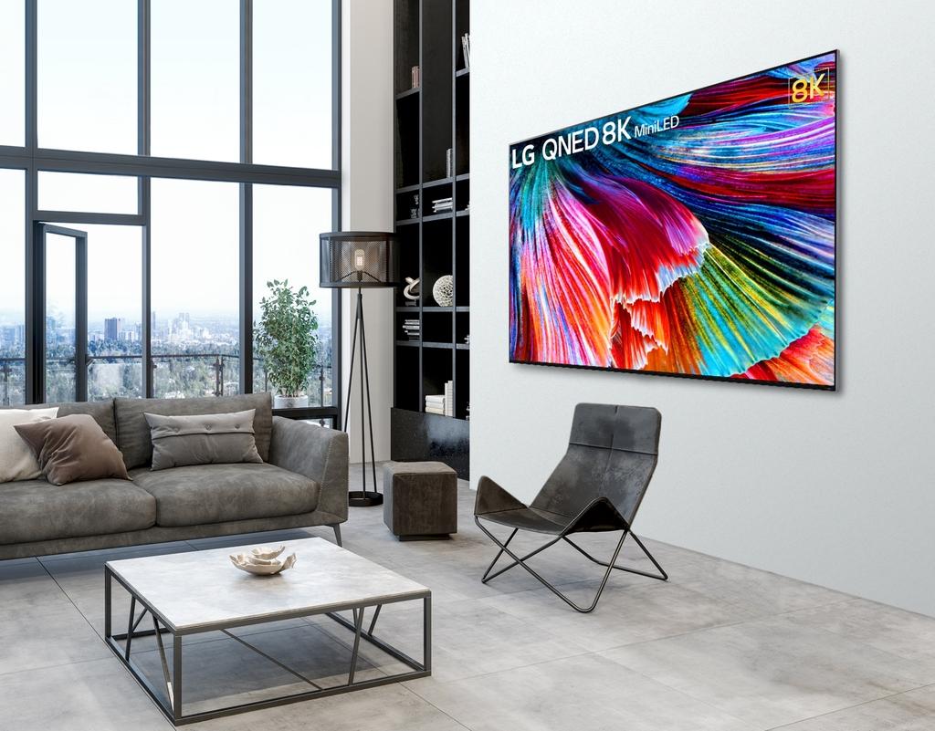 LG전자 첫 미니 LED TV 'LG QNED' 나온다…북미·유럽 등 공략