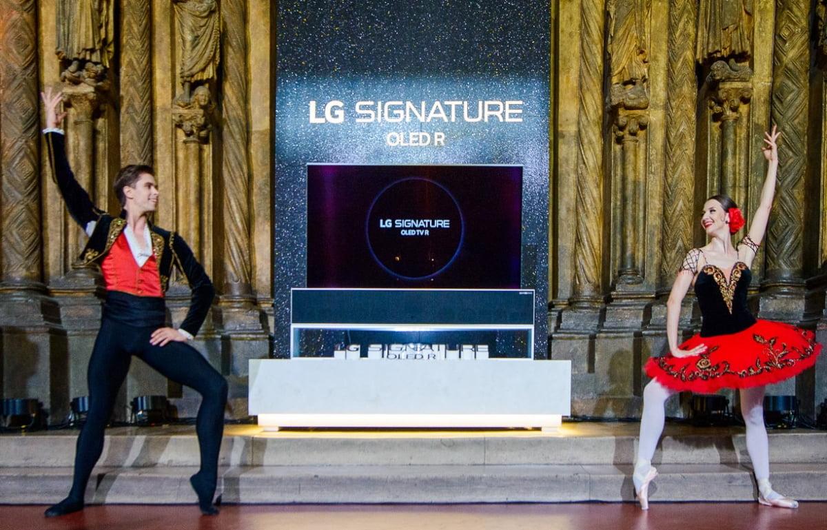 LG전자, 롤러블TV로 VVIP 초프리미엄 마케팅