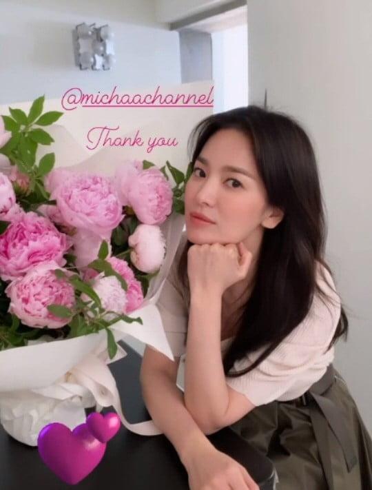 41세 송혜교, 긴 생머리는 진리…예쁨 한도초과