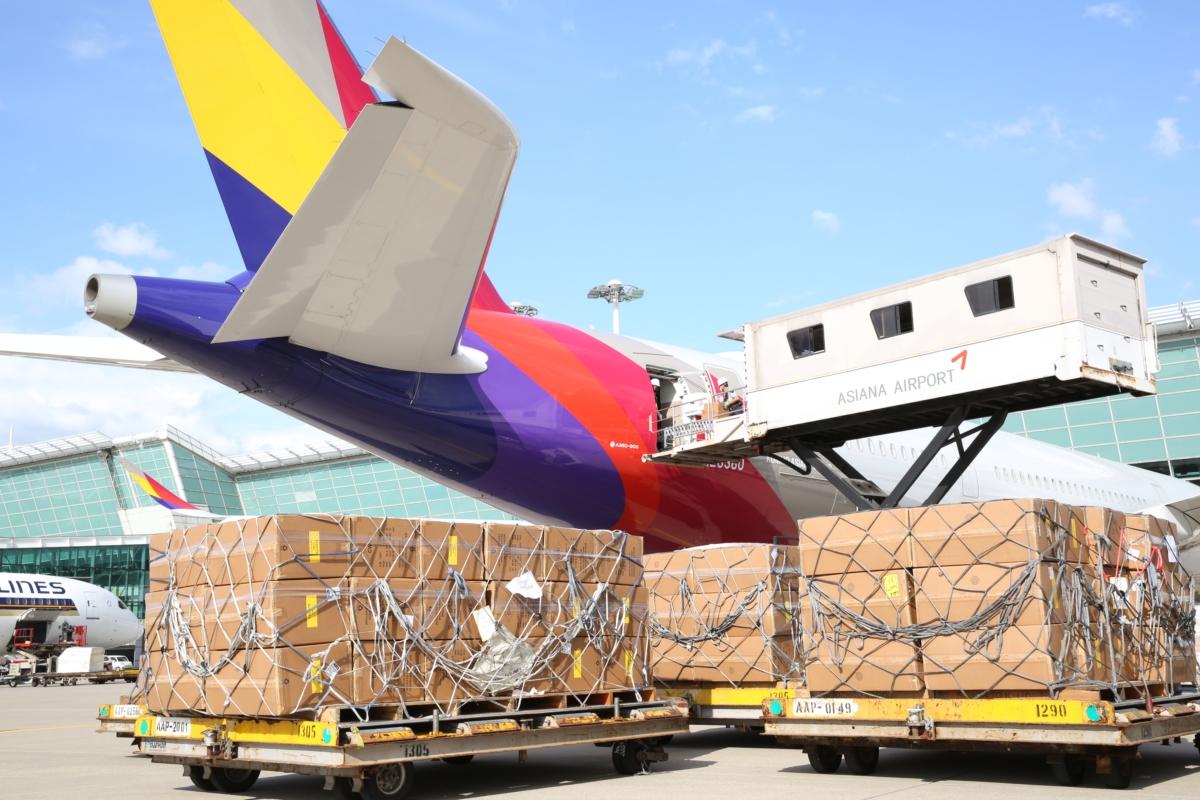 아시아나항공, 1분기 3.5만톤 운송…화물 수익 확대 지속