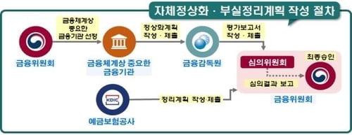 KB·농협·우리·신한·하나, 경영위기 정상화 계획 매년 만든다