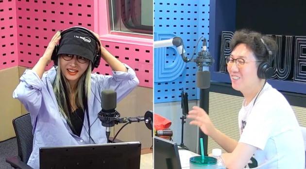 사진=SBS 라디오 파워FM '김영철의 파워FM' 영상 캡처