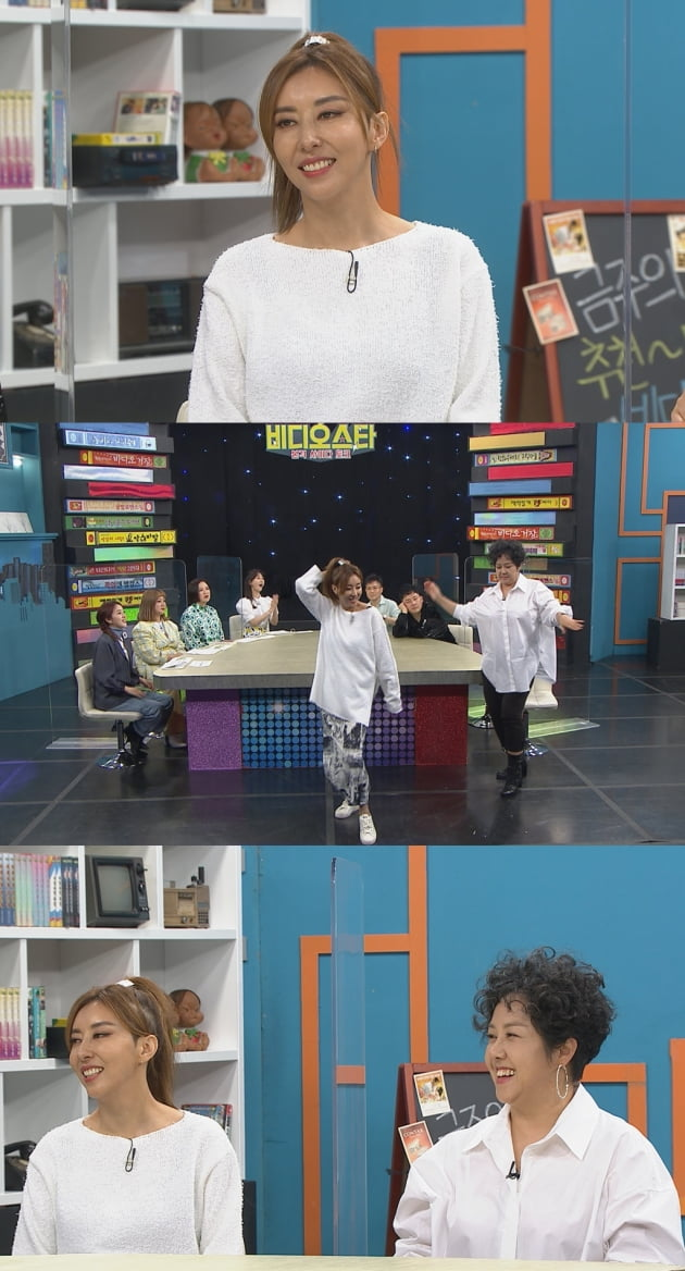 '비디오스타' 김완선/ 사진=MBC에브리원 제공