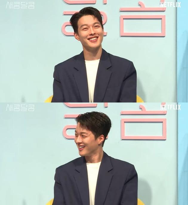 넷플릭스 '새콤달콤' 장기용./ 제작보고회 영상 캡처