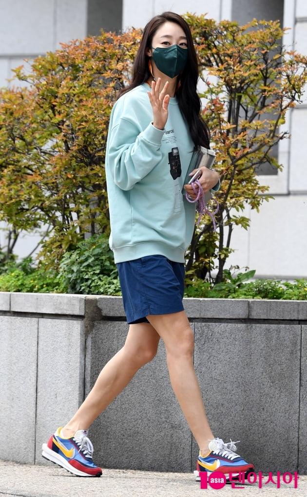[TEN 포토] 최여진 '건강미 넘치는 각선미'