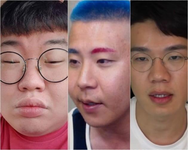 BJ 봉준(왼쪽), 철구, 보겸/사진=SNS, 유튜브
