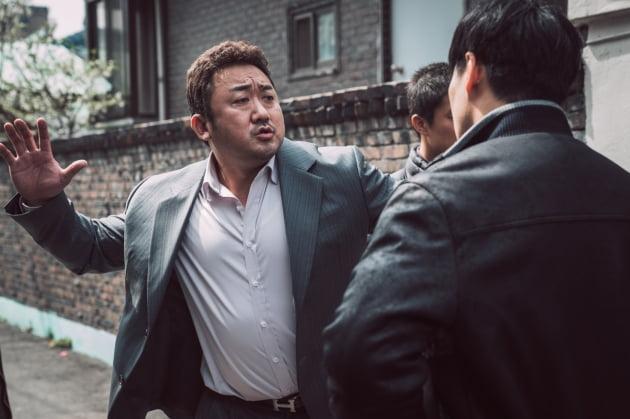 영화 '범죄도시' 마동석./