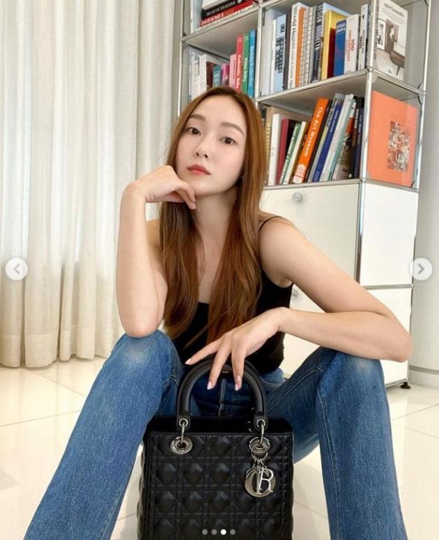 '타일러 권♥' 제시카, '결혼' 언급 하더니 더 예뻐졌네 [TEN★]